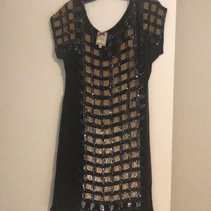 Yoana Baraschi sequin cocktail dress